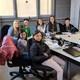 Parlem de la competició de lectura en veu alta amb els alumnes de l'IE Mestre Andreu