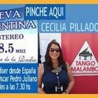 Entrevista a Cecilia Pillado - Eduardo Aldiser con Oscar Pedro Juliano -25-08-16 - Ituzaingó - Argentina