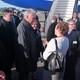 Llegada a Dublín del presidente cubano