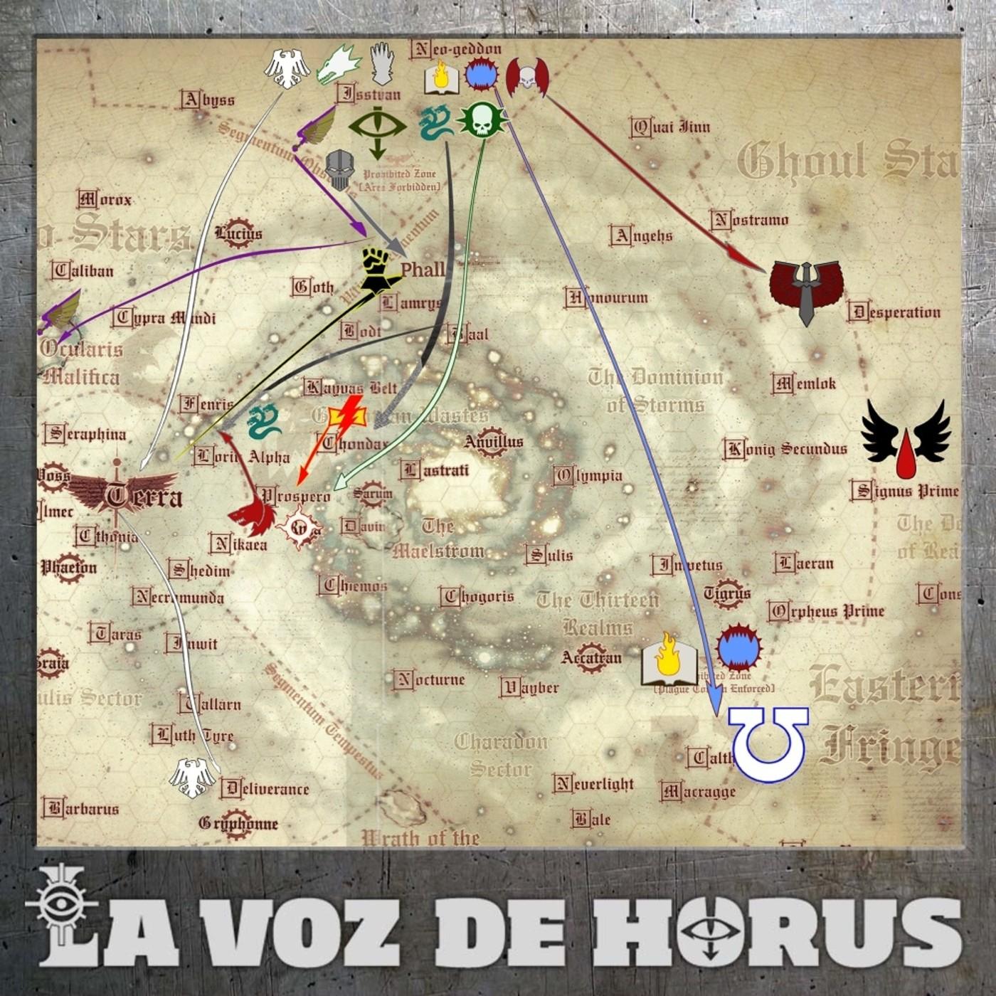 LVDH 180 - Crónica de la Herejía de Horus II: de Próspero a Calth