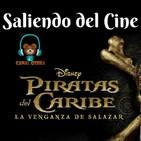 Piratas del Caribe Vengaza de Salazar Saliendo del Cine