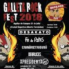 Cartel definitivo del Galleta Rock Fest