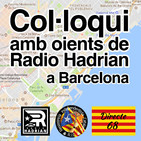Col·loqui amb oients de Radio Hadrian del 05/12/2018