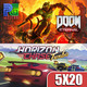 "PG 5X20 - Análisis ""Doom Eternal"", Análisis ""Horizon Chase Turbo, Resumen Nintendo direct mini"