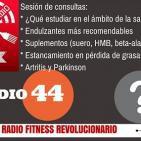 Episodio 44: Qué estudiar en salud, endulzantes, suplementos (HMB, beta-alanina, suero...), parkinson y artritis