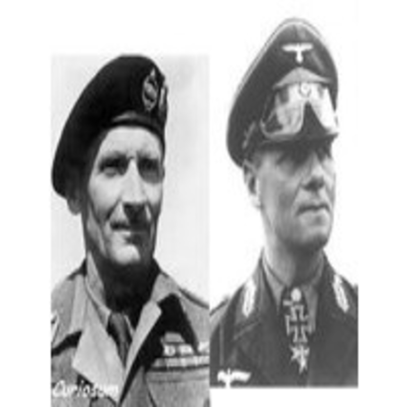 Pasajes de la historia. Erwin Rommel contra Bernard Montgomery.