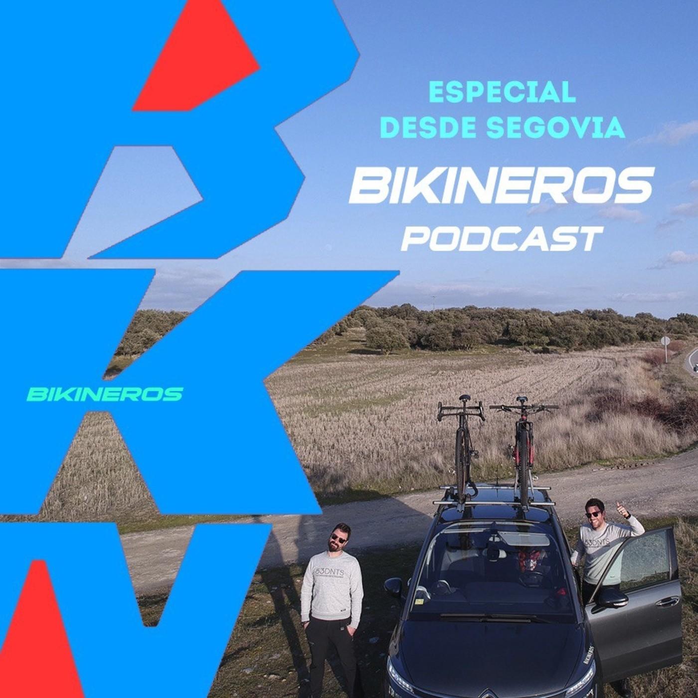 BKN 2x02: Carrera de MTB en gravel. Believe.app. Primer español en el Tour. +plástico+palomas