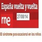 La orientadora Mª José Torrecilla y G. Cánovas hablan del síndrome posvacacional en niños (RNE, 27-8-2014)