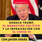 Donald Trump, el marketing político y la infoxicación de noticias con el COVID-19