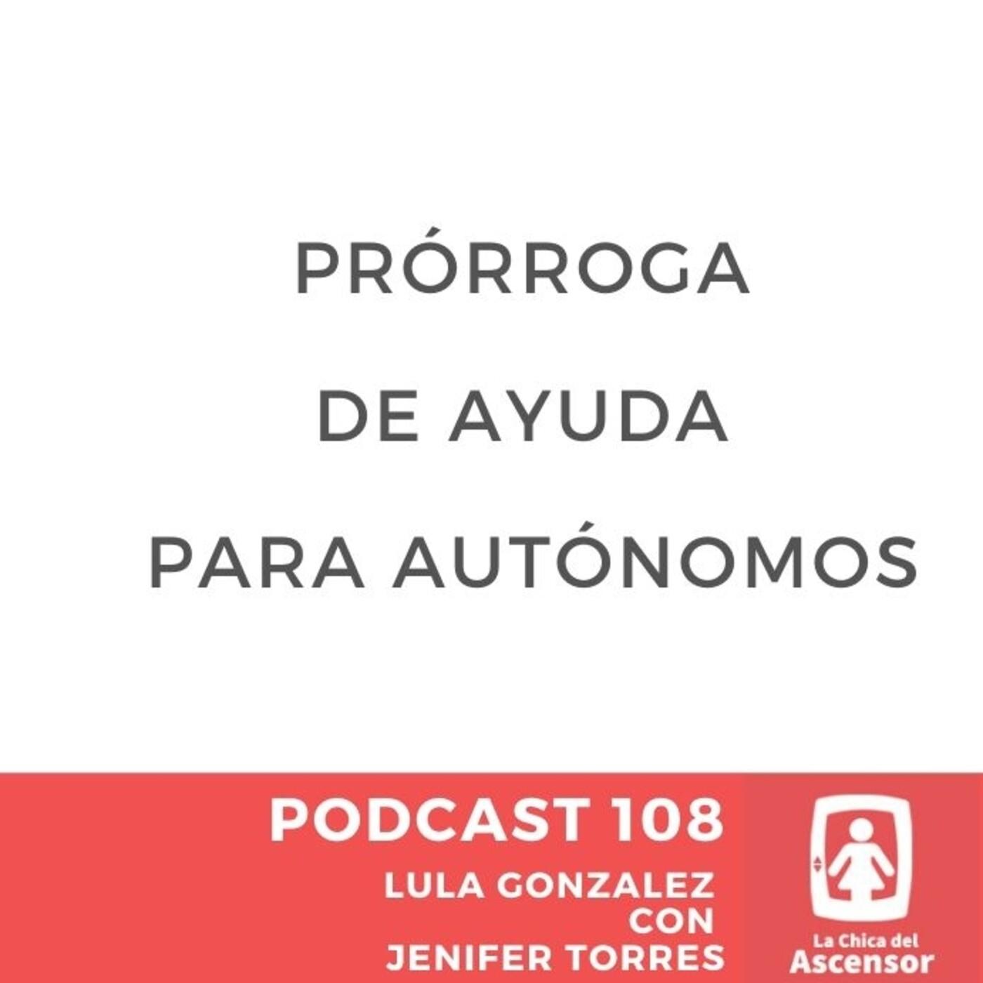 108 - Prórroga de ayuda para autónomos
