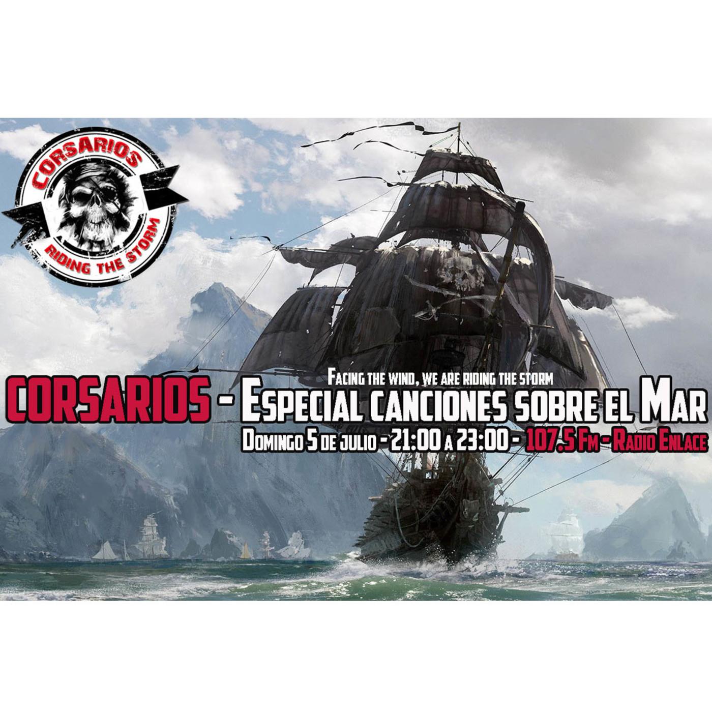 Corsarios - Canciones relacionadas con el mar - Domingo 5 Julio 2020