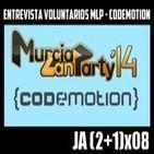 Jugadores Anónimos 3x08 Entrevista a Voluntarios de la MLP - Codemotion