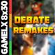 GX 8x30 - Debate sobre Remakes