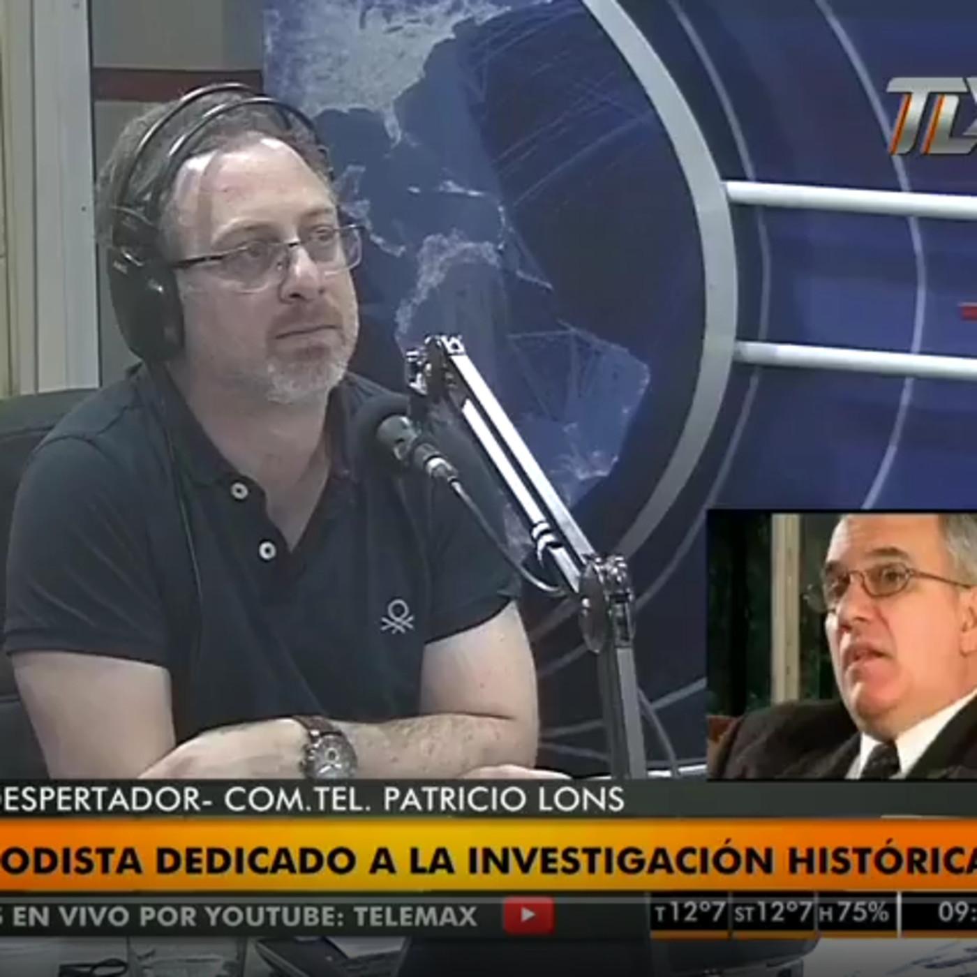 Patricio Lons entrevistado por Lucio Di Matteo en Radio Latina