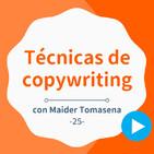 Técnicas de copywriting efectivas para cualquier web, con Maider Tomasena - #25