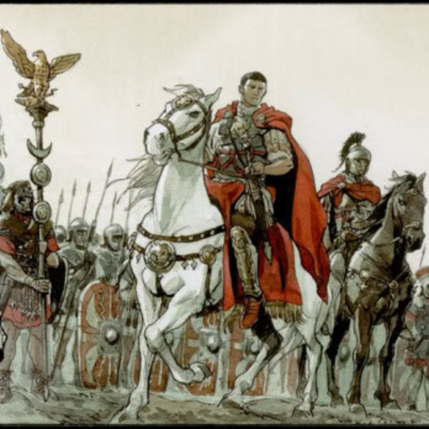 Antes de medianoche 2/31: Legiones romanas: una máquina militar perfectamente engrasada;Inmortalidad: anhelo inalcanzado