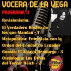 Programa 11: (Vocera de la Vega).