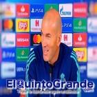 Rueda de Prensa Zinedine Zidane previa al Galatasaray - Real Madrid ( UCL - T19/20 )