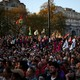 Protestas en Londres contra el Cambio Climático y el sistema capitalista