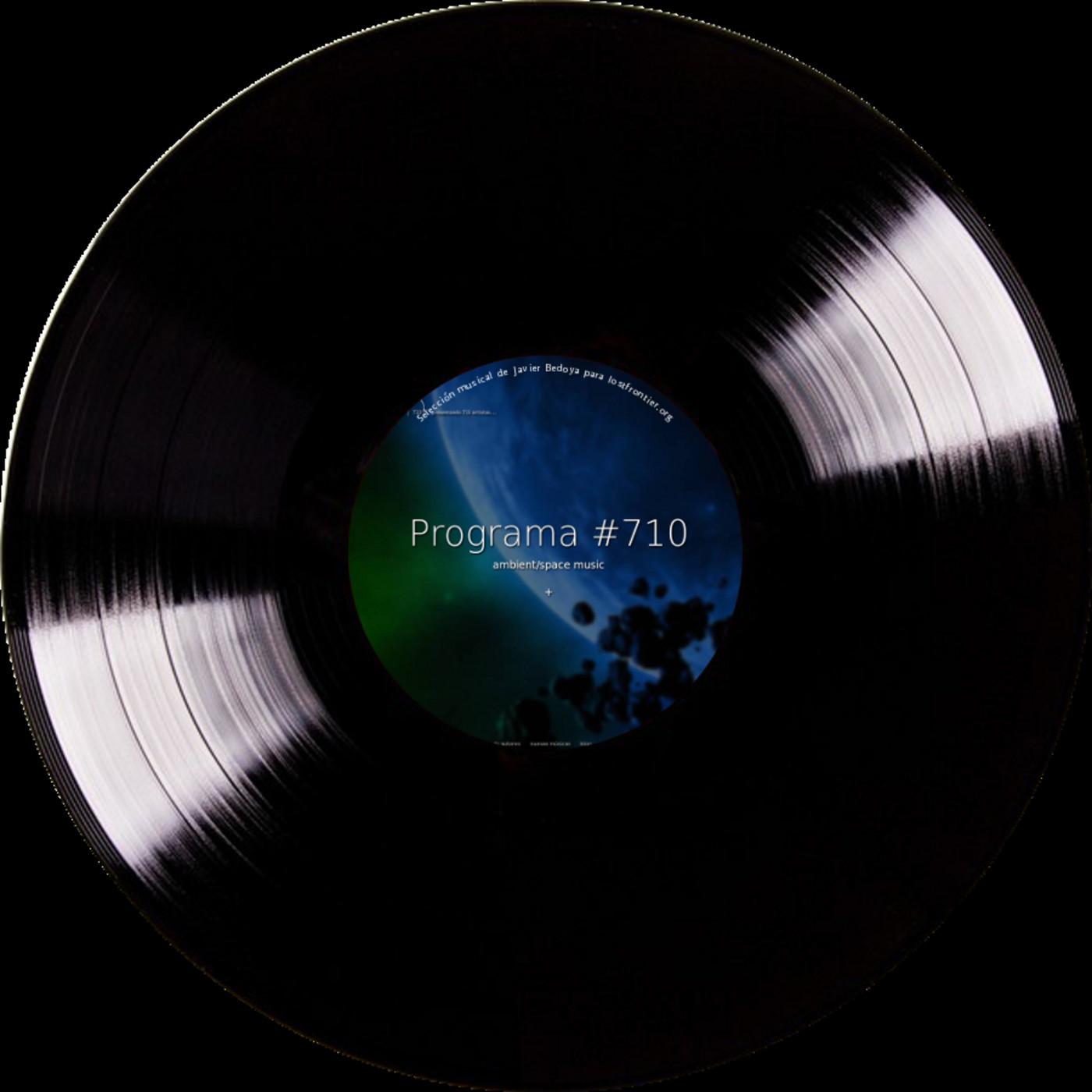 #710, space music, emitido el 26/06/2012