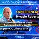 HORACIO ROBERTO - Encuentros Cercanos del 6° Tipo - Transcomunicación -  Congresos CIO Uritorco