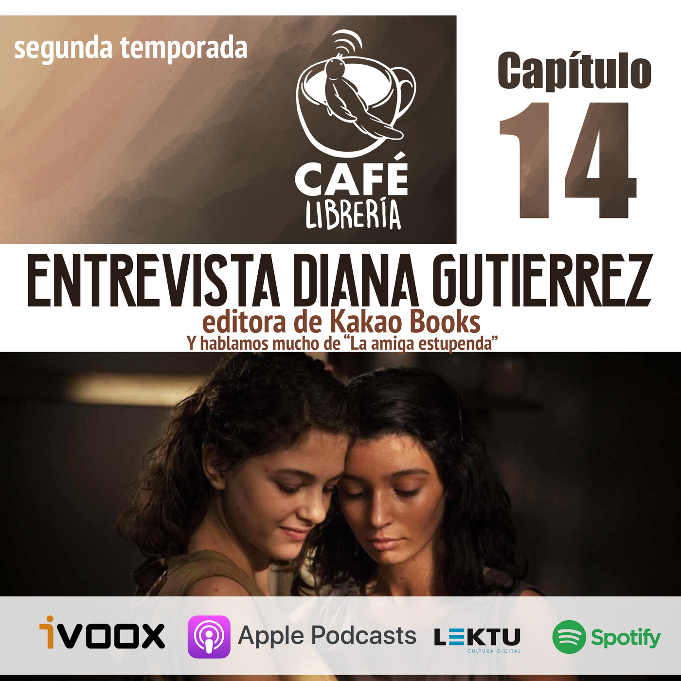 Temporada 2, capítulo 14: Entrevista Diana Gutiérrez (Kakao Books)