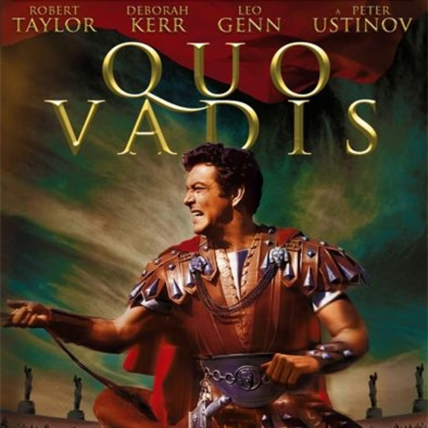 Quo Vadis (1951) #Aventuras #Histórico #Religión #peliculas #audesc #podcast