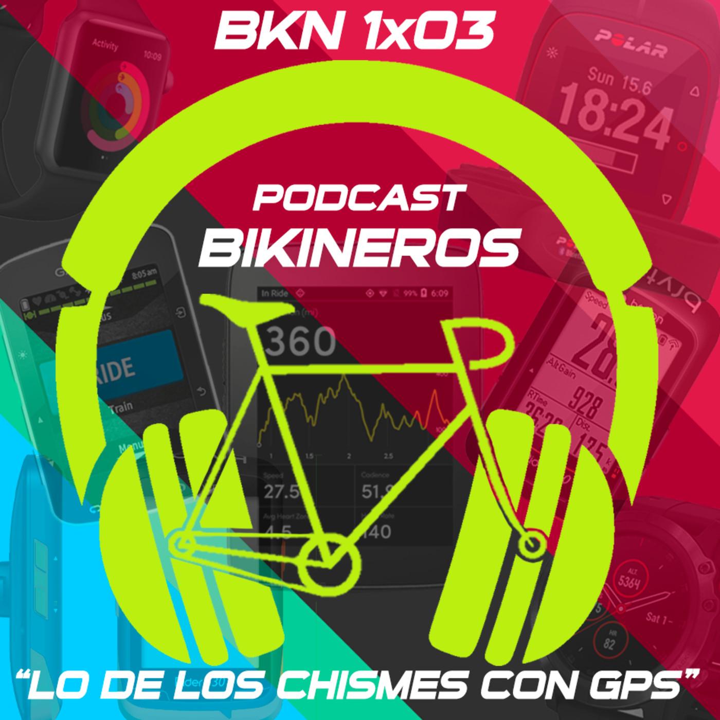 BKN 1x03: Lo de los GPS para ciclismo, Alexa y el Desarme de Oviedo