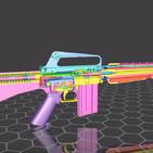 PTMyA T3P2: evolución arquitectura cajón de mecanismos de rifle de asalto