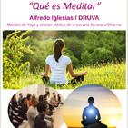 """2018-11-23 DRUVA """"Qué es Meditar"""" en Calamocha (Teruel)"""