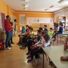 Charlas sobre triatlón en los centros escolares de Aguilar