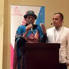 Ponencia de Kombou Boly Barry durante evento en Honduras