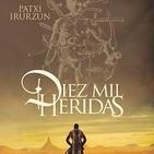 Llega a las librerías 'Diez mil heridas', la nueva novela de Patxi Irurzun