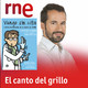 """""""Vengo sin cita"""" en 'El canto del grillo"""" de RNE, con Chema Langa. Fernando Fabiani."""