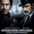 Sherlock Holmes: Juego de Sombras (2011) #Acción #Intriga #Aventuras #peliculas #audesc #podcast