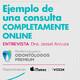 Ejemplo de una consulta on line