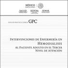 32 GPCE Hemodiálisis adulto en el tercer nivel de atención