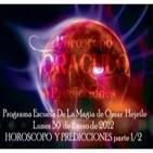 Horoscopo y Predicciones - Escuela de Magia 30-01-2012