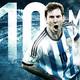Messi y 10 cojos
