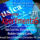 XperYmentaS_36_11.12.18__Rubén López-Cano_Música dispersa. Entrev.+ live music +E.Circonite+M.Jordà.