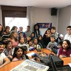 Visita a Radio Aguilar del CEIP Valdeolea de Mataporquera