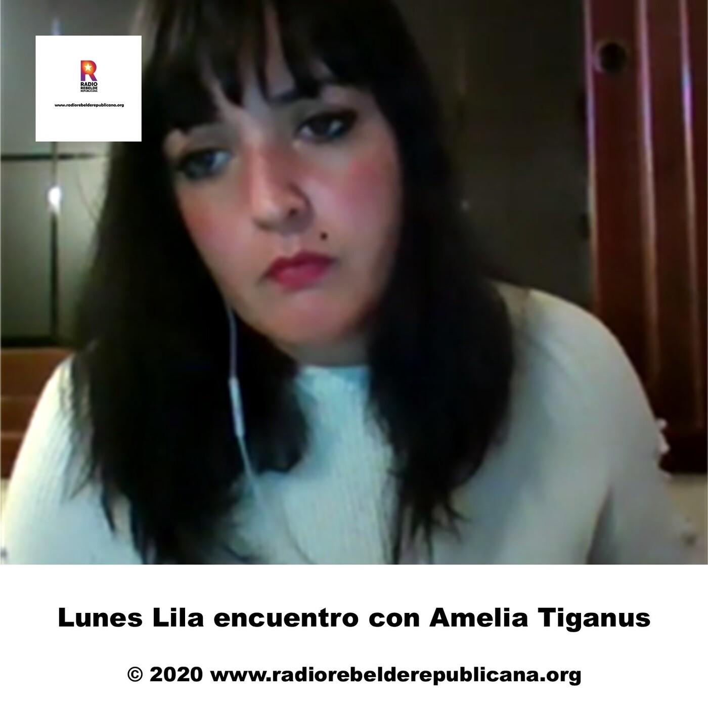 Lunes Lila encuentro con Amelia Tiganus
