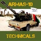 ARMAS 10 #09 Technicals. La Caballería Toyota