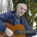 Gontzal Mendibil, el bardo de Zeanuri, ofrece un kantaldi en la exposicion Gorbeia en Bilbao