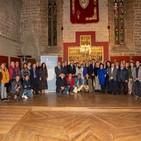 SER Navarra. Hora 14. Ramón Huarte. Itineris COMA presenta el Camino de la Vera Cruz en la Catedral de Pamplona