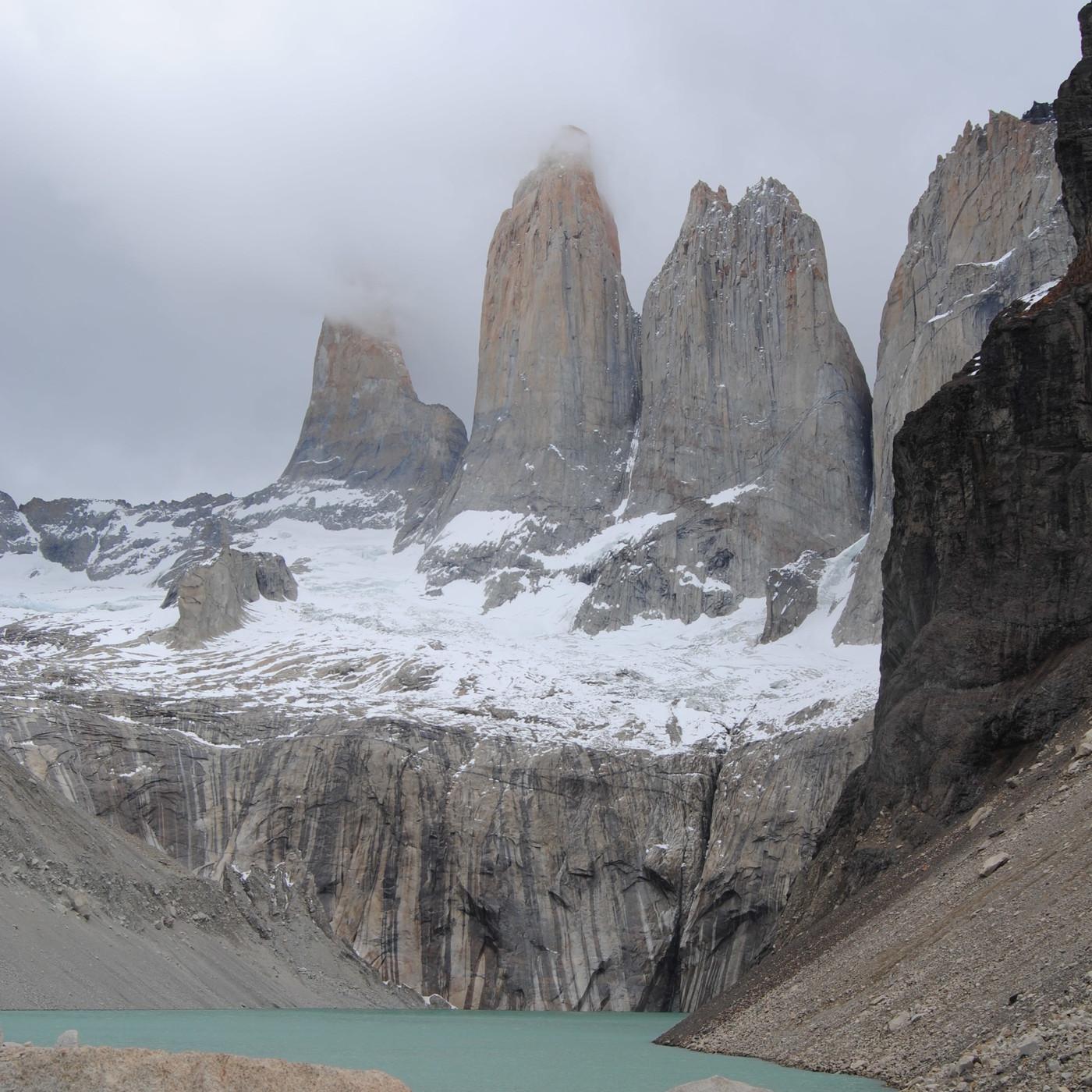 33.- Mochileros en la Patagonia, en Las Torres del Paine - 2a parte (con Mar P.).