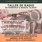 Poema de Matías Romero a Manolo Olarte (Taller de radio)