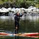Salvador Peluso, a Malvinas en Paddle Surf 2020