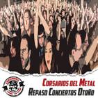 Corsarios 17 de Sept. de 2017 - Especial repaso conciertos de otoño