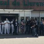 La asociación motera Correcaminos de Zafra homenajea a los sanitarios del Área de Salud Llerena-Zafra